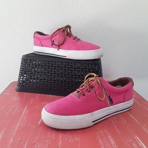 Ralph Lauren Polo Mandi Canvas Sneakers